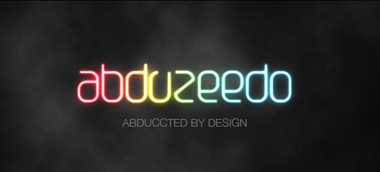 Shining Neon Text Effect - screen shot.