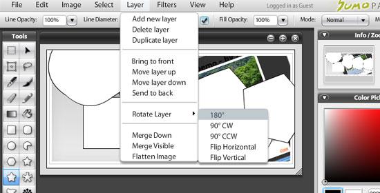 SUMO Paint - screen shot.