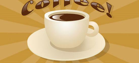 Vector Coffee Cup - screen shot.