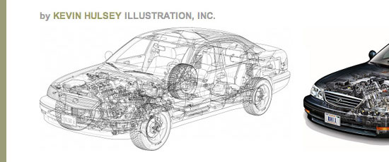 Kevin Hulsey Illustration - screen shot.
