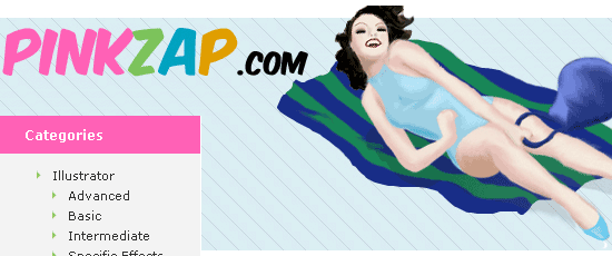 PinkZAP - screen shot.