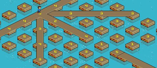 CSS 3D puzzle screen shot.