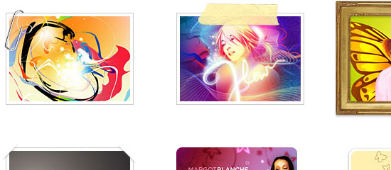 CSS Decorative Gallery screen shot.
