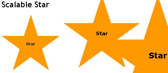 Scalable Star screen shot.