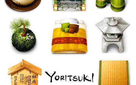 Yoritsuki icons screen shot