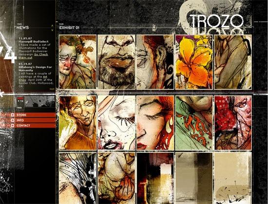 TROZO GALLERY - screen shot.