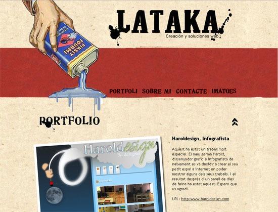 Lataka - screen shot.