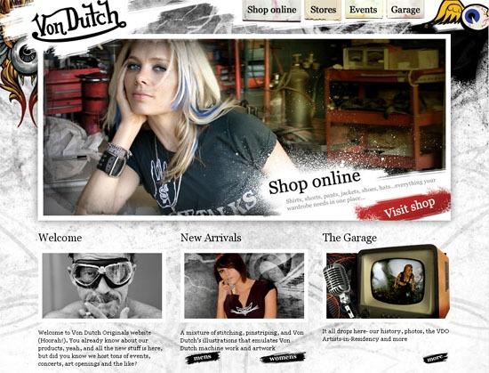 Von Dutch Originals - screen shot.
