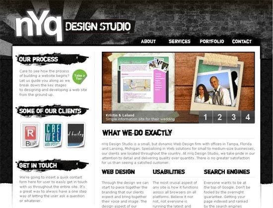 nYq Design Studio - screen shot.