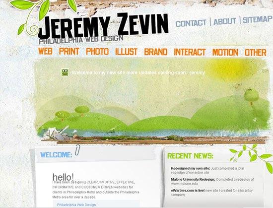 Jeremy Zevin - screen shot.