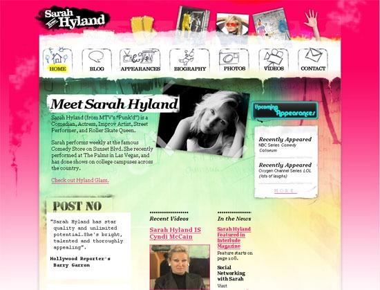 Sarah Hyland - screen shot.