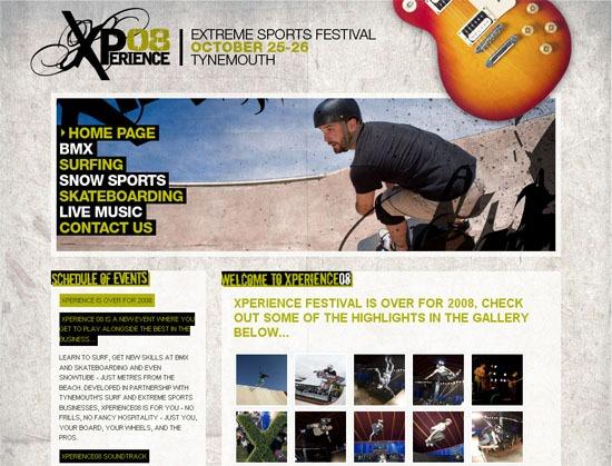 Xperience 08 - screen shot.