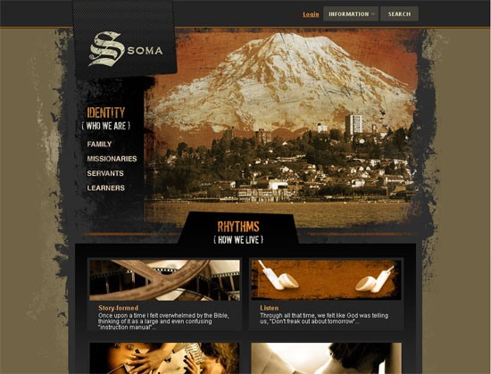 Soma Communities - screen shot.