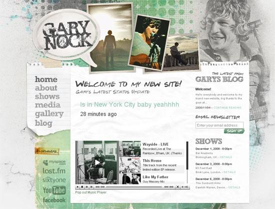 Gary Nock - screen shot.