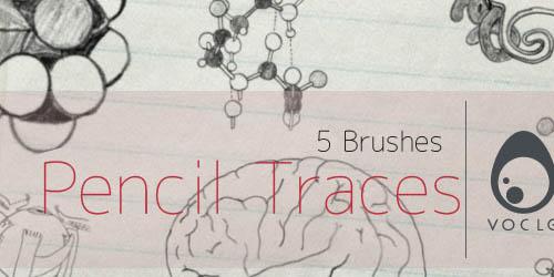 Pencil Traces (hand drawn) - screen shot.