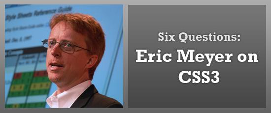 Eric Meyer on CSS3 - photo courtesy of Chris Jennings.