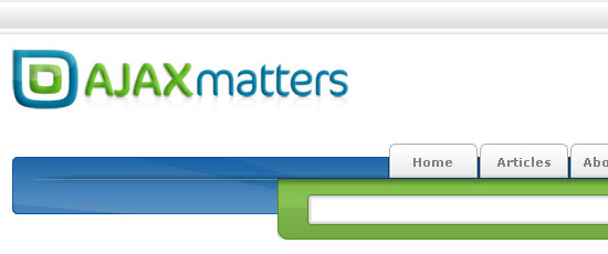 AJAX Matters - screen shot.