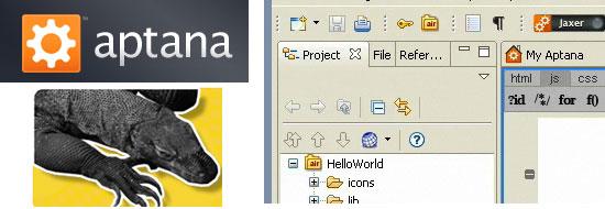 IDE logos.