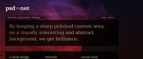 Create a Sleek, High-End Web Design from Scratch - screen shot.