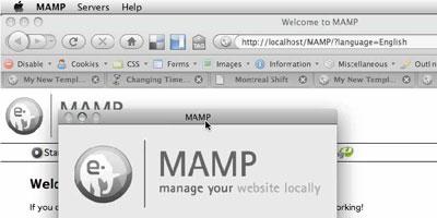 Creating a WordPress Template - screen shot.