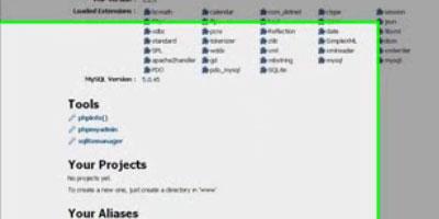 Install WordPress Locally - screen shot.