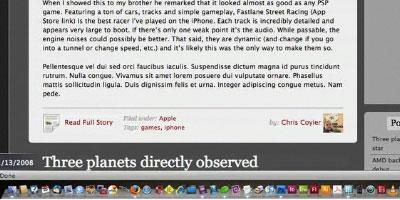 Hodgepodge of WordPress Tricks - screen shot.