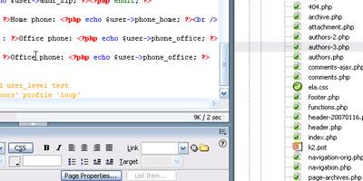 Setting up a member/user directory in WordPress - screen shot.