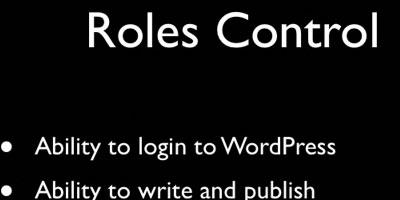 WordPress User Roles Explained - screen shot.