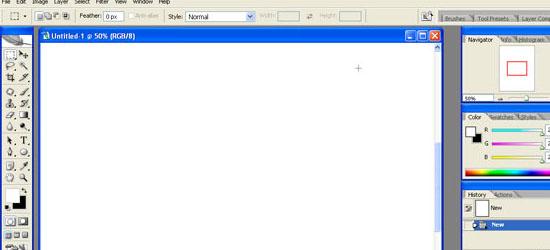 Adobe Photoshop Interface Tutorial - screen shot.