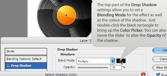 Understanding Bevel and Emboss - screen shot.