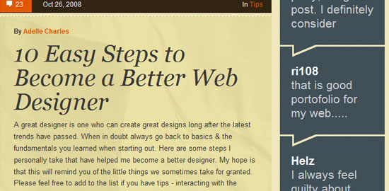 Web Design Ledger - screen shot.