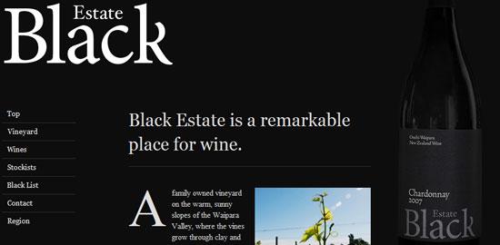 Black Estate Vineyard - screen shot.
