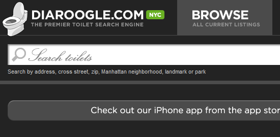 Diaroogle.com - screen shot.