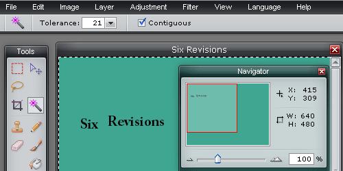 pixlr - screen shot.