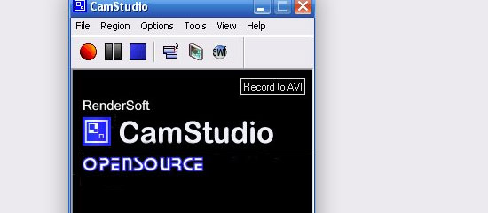 CamStudio - screen shot.