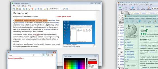 Greenshot - screen shot.