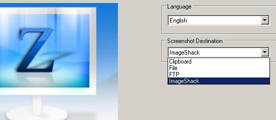 ZScreen - screen shot.