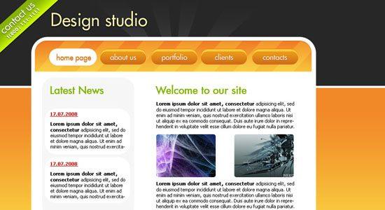 Website Design Studio - screen shot.