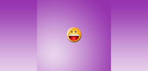 Recreate the Famous Yahoo! Smiley - screen shot.