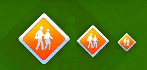 Safety Icon Design - screen shot.