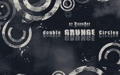 Double Grunge Circles - screen shot.