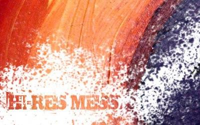Hi-Res Mess - screen shot.