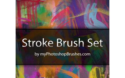 Stroke Brush Set - screen shot.