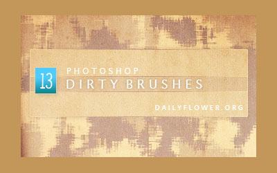 dirty brushes - screen shot.
