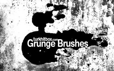 Photoshop Grunge Brush Set - screen shot.