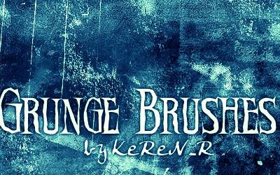 Grunge Brushes 3 - screen shot.