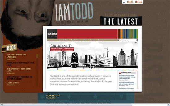 iamtodd.com - screen shot.