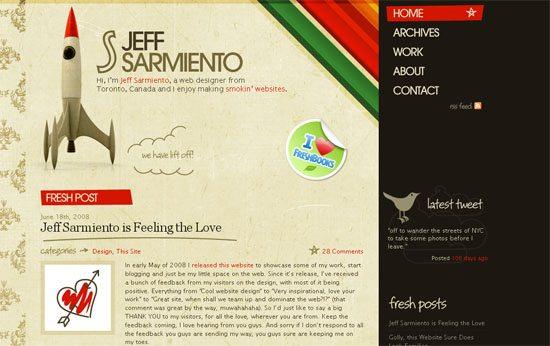 Jeffrey Sarmiento - screen shot.