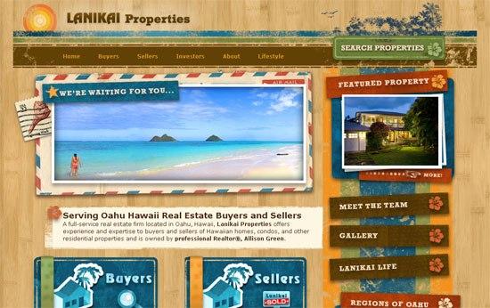 Lanikai Properties - screen shot.