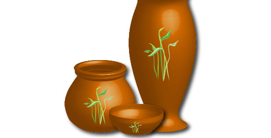 Drawing a Vase in Illustrator - preview.